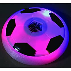 CP BigbasketAir Power Soccer Sport Football Toy Multi-surface Soft Foam Floating LED Light Up Flashing Music Football NO.3222