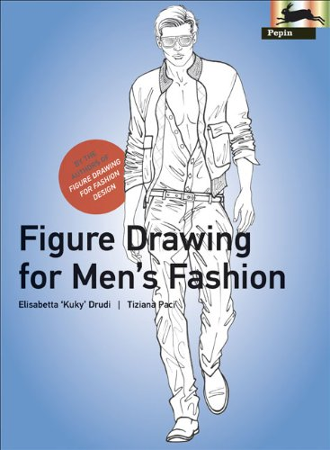 Figure Drawing for Men's Fashion (Pepin Press Design Books)