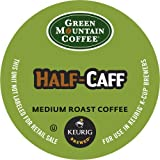 Keurig, Green Mountain Coffee, Half-Caff, 50 K-Cup Packs, Net Wt. 16.5 Oz