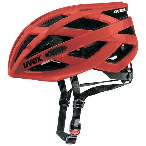 Uvex IVO Race casco da bicicletta, Unisex, rosso, talla 52-57