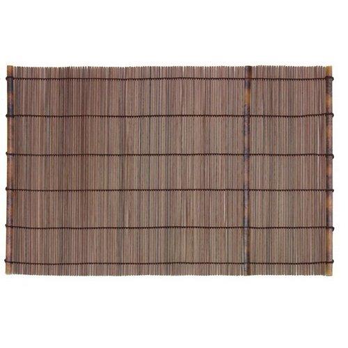 01090406101 Naturset Bambus, braun