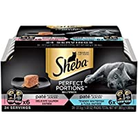 SHEBA Perfect Portions Pate Entree Wet Cat Food Trays