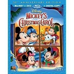 Mickey's Christmas Carol 30th Anniversary - Special Edition (Blu-ray/DVD + Digital Copy)