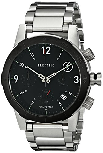 Electric Men'S Ew0020010001 Fw02 Stainless Steel Band Analog Display Japanese Quartz Silver Watch