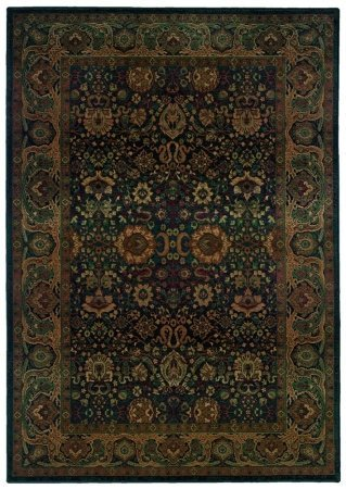 Sphinx by Oriental Weavers 748679243488 Kharma 2.25 ft. x 4.42 ft. Traditional Rug - Blue and Beige