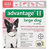 Bayer Advantage II, Large Dogs, 21 to 55-Pound, 4-Month