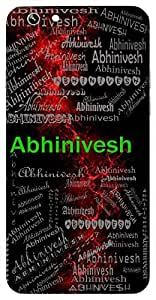 Abhinivesh (Desire) Name & Sign Printed All over customize & Personalized!! Protective back cover for your Smart Phone : Samsung Galaxy S6 Edge