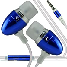 buy (Dark Blue) Umi Hammer S (Dimensions 154 X 77.4 X 8.5 Mm)Stylish Quality Aluminium In Ear Earbud Stereo Hands Free Headphones Earphone Headset With Built In Microphone Mic & On-Off By I -Tronixs