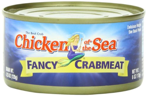 Chicken of the Sea Fancy Crab, 6-Ounce Cans (Pack of 12) (Can Crab Meat compare prices)