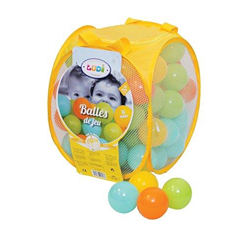 Ludi - Balles de Jeu Assorties - Mixte