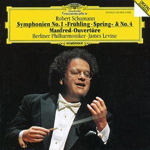 Schumann: Symphony Nos. 1 & 4 / Manfred Overture
