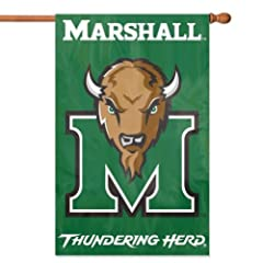 Buy Marshall Thundering Herd Applique Banner Flag by Party Animal