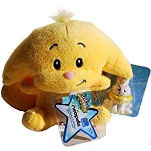 Neopets yellow kacheek plush with keyquest for Kitchen quest neopets