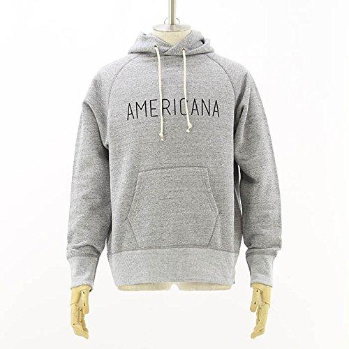 (アメリカーナ) AMERICANA HOOD パーカー AMERICANAプリント BRF-002M-A TOP GRY M
