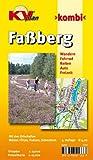 Faßberg mit Müden/Örtze: 1:15.000 Gemeindeplan mit Freizeitkarte 1:25.000 mit Radrouten, Reit- und Wanderwegen