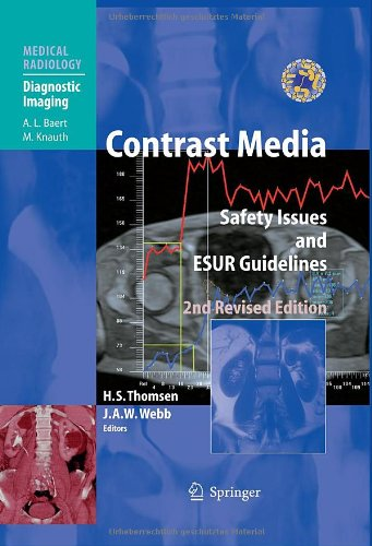 Contrast Media Safety Issues and ESUR Guidelines