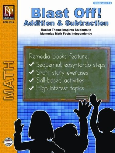 Remedia Publications Blast Off Addition and Subtraction