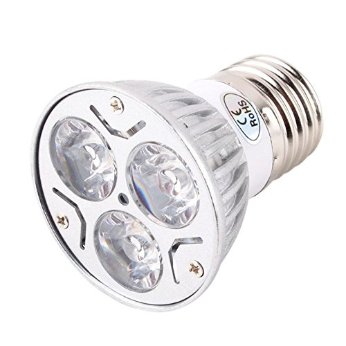 Partical Charming 6W Hydroponics 2 Red 1 Blue Plant Flower Grow Spot Light Bulb Flowering Led Lamp