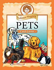 Educational Trivia Card Game - Professor Noggin's Pets