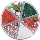 Wilton 6 Color Christmas Sprinkle Mix
