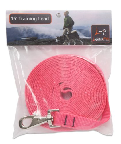 lupine training lead for medium and larger dogs