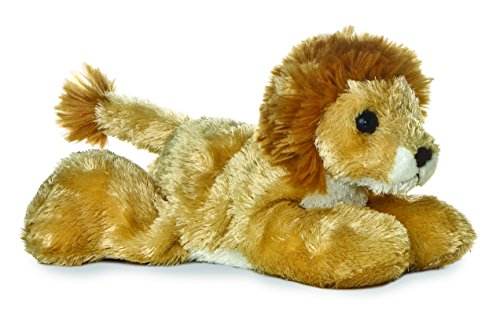 "Aurora Plush Lionel Lion Mini Flopsie 8"" - 1"