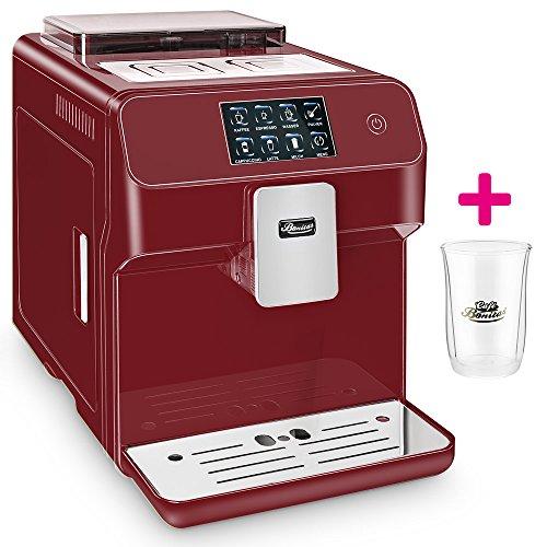 ☆ONE TOUCH☆ Kaffeevollautomat✔ 1 Thermoglas Gratis✔ CAFE BONITAS✔ Kingstar Rubin✔ Touchscreen✔ Timer✔ 19 Bar✔ Kaffeeautomat✔ Latte Macchiato✔ Kaffee✔ Espresso✔ Cappuccino✔ heißes Wasser✔ Milchschaum✔ thumbnail