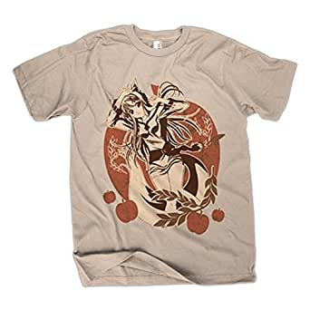 Spice and wolf holo t shirt for Amazon review wolf shirt