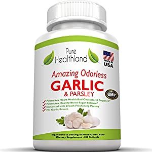 Pills With No Garlic Breath For Garlic Lovers!: Health & Personal Care