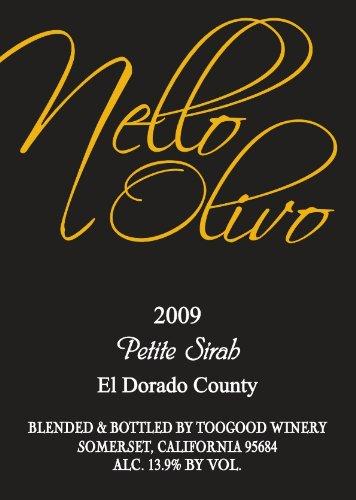 2009 Nello Olivo Petite Sirah El Dorado County 750 Ml