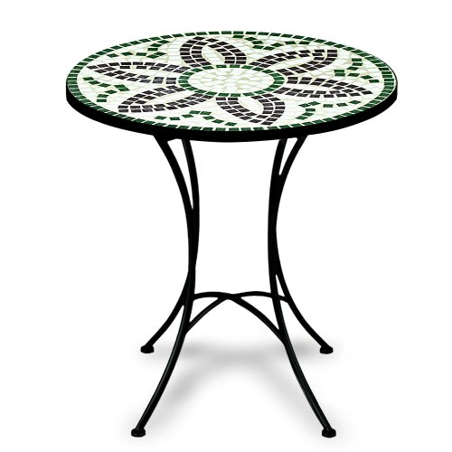 luxus mosaiktisch flora bistrotisch mosaik bistro beistelltisch gartentisch. Black Bedroom Furniture Sets. Home Design Ideas