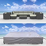 Urban Furnishing Premium Outdoor Patio Furniture Cover (12.0' x 9.0' x 2.3')
