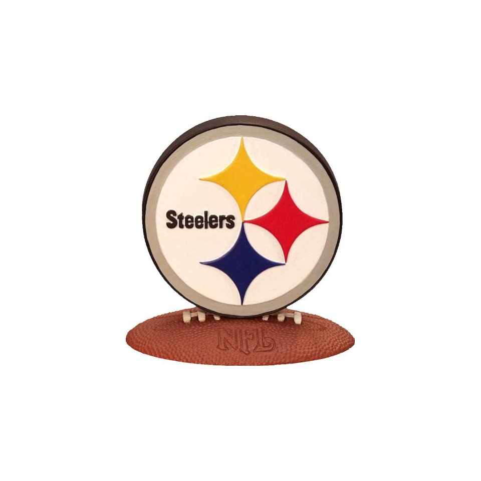 PITTSBURGH STEELERS Team Logo 4 Tall 3D COLLECTIBLE (with Team Colors