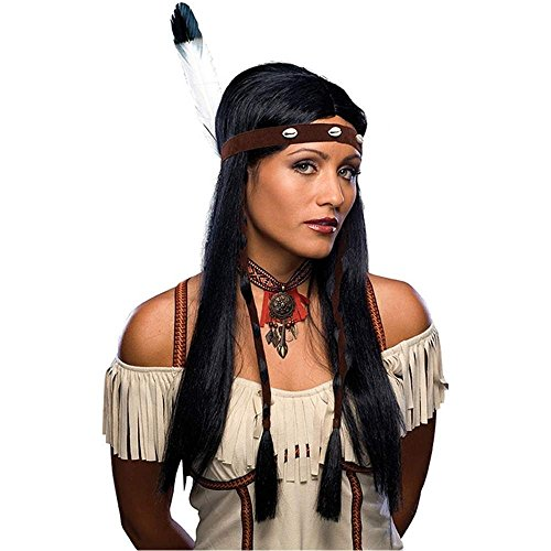 Sexy Indian Wig Costume Accessory