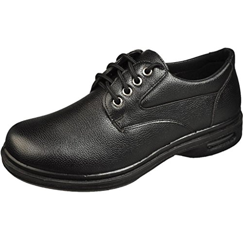 Sedagatti Menu0026#39;s Black Slip Resistant Restaurant Lace Up Work Shoes Business Industrial Food Service