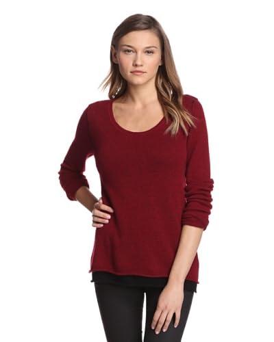 Kokun Women's Layered Cashmere Sweater