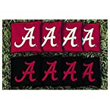 NCAA Replacement Corn Filled Cornhole Bag Set NCAA Team: Alabama Crimson Tide