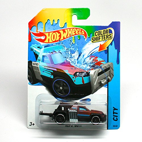Repo Duty / Color Shifters 2014 Hot Wheels City Series 1:64 Scale Vehicle #38/48