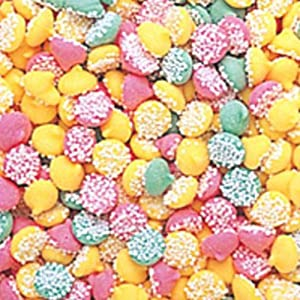 Petite Assorted Smooth & Melty Nonpareil Mint Chocolate Chips 1lb Bag