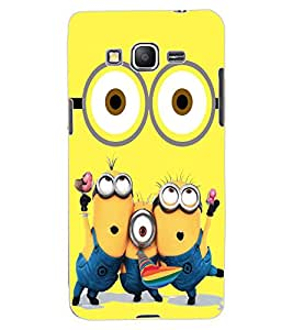 ColourCraft Cartoon Design Back Case Cover for SAMSUNG GALAXY GRAND PRIME G530H