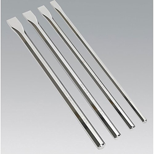 Sealey AK9148 Chisel Extra-Long, Set of 4