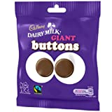 Cadbury Dairy Milk Giant Buttons Bag 40g (Box of 36)