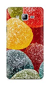 Amez designer printed 3d premium high quality back case cover for Samsung Galaxy ON7 (candy colourful )