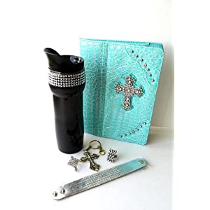 Rhinestone Bling Bling Gift Set with iPad 2 Case Cover