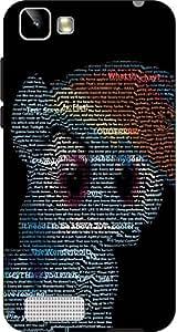 Cliche Printed Back Cover For Vivo Y27L