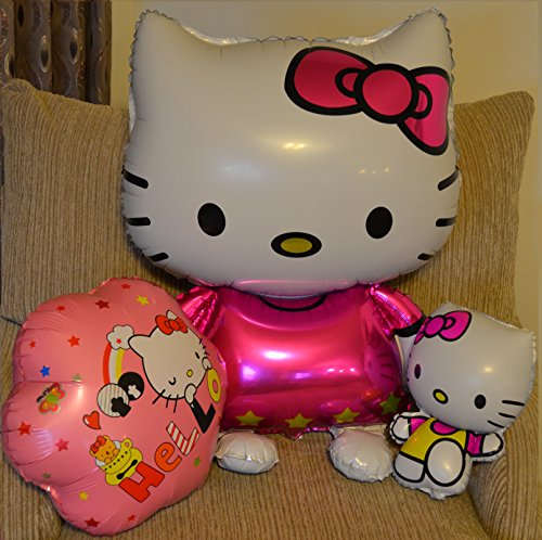 Giant-Hello-Kitty-Balloon-Bouquet-3-PK-New-Large-Size-Hello-Kitty-Cat-Foil-Balloons-Cartoon-Birthday-Decoration-Wedding-Party-Baby-Shower-Inflatable-Air-Balloons-Classic-Toys