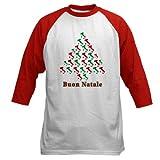 Buon Natale Baseball jersey Baseball Jersey by CafePress