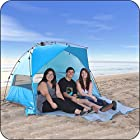EasyGo™ Shelter - INSTANT Pop Up Beach Cabana Tent Sun Sport Shelter - Sets up in Seconds