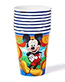 Mickey Mouse Clubhouse 9oz Paper Party Cups, Pack of 8, Party Supplies