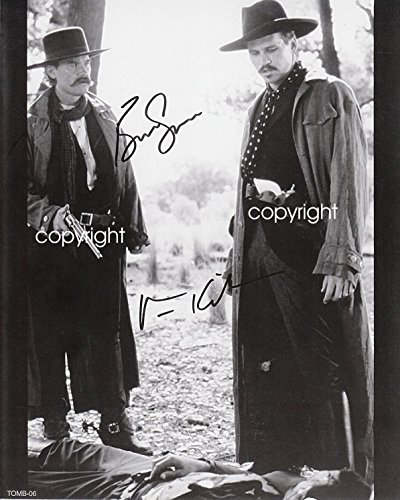 Tombstone-Val-Kilmer-Kurt-Russell-Wyatt-Earp-Doc-Holliday-Vintage-Old-Photo-8-x-10